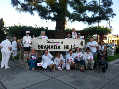Granada Hills Peace Walk International Day of Peace