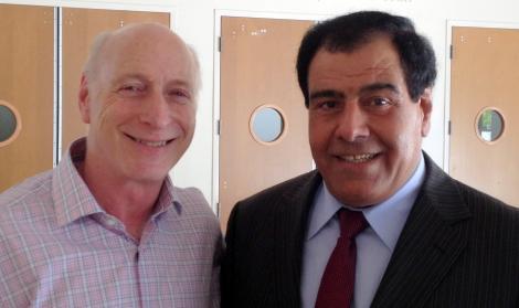 Stephen Seideroff  & Izzeldin Abuelaish